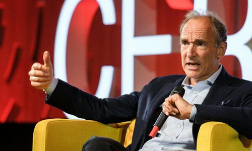 Computer scientist Sir Tim Berners-Lee.